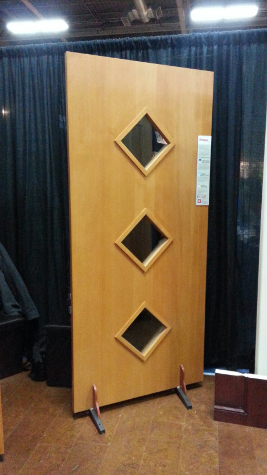 Simpson Contemporary wood doors